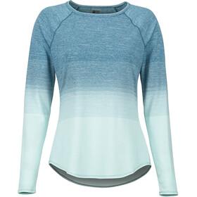 Marmot Cabrillo Naiset Pitkähihainen paita , sininen